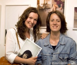 Muff Magazine Creative Director Elisabeth Bukanova (L) and Editor Kate Bond (R)