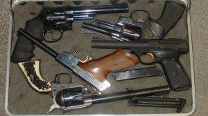 Group of guns