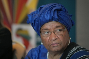 Pres. Ellen Johnson Sirleaf  of Liberia