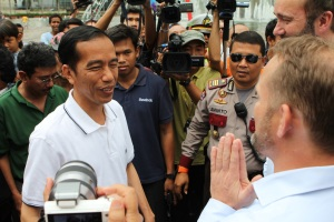 President-Elect Joko Widodo of Indonesia