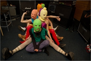 Pussy Riot punk band.