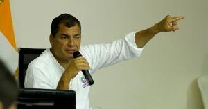 Ecuadorian President Rafael Correa