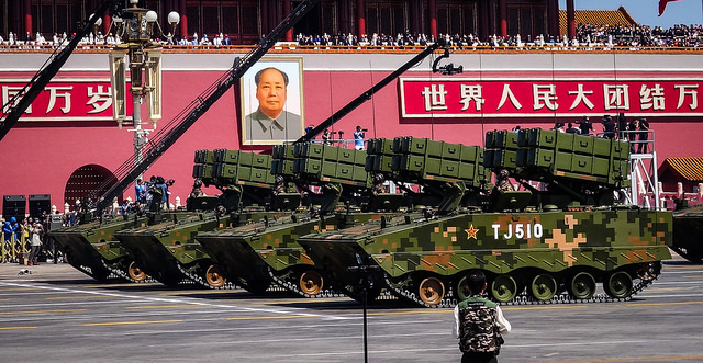 China's Victory Day parade