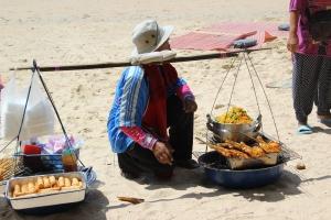 Street food vendor at Ao Nang