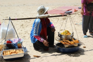 Street food vendor at Ao Nang