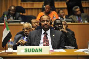 Sudanese President Omar Hassan Ahmad al-Bashir